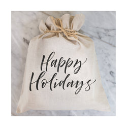 Happy Holidays Gift Bag // Gift Wrap // Packaging // Present // Party Favor // Gift Bag // Hostess Gift - Porter Lane Home