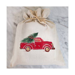 Truck Gift Bag // Gift Wrap // Packaging // Present // Party Favor // Gift Bag // Hostess Gift