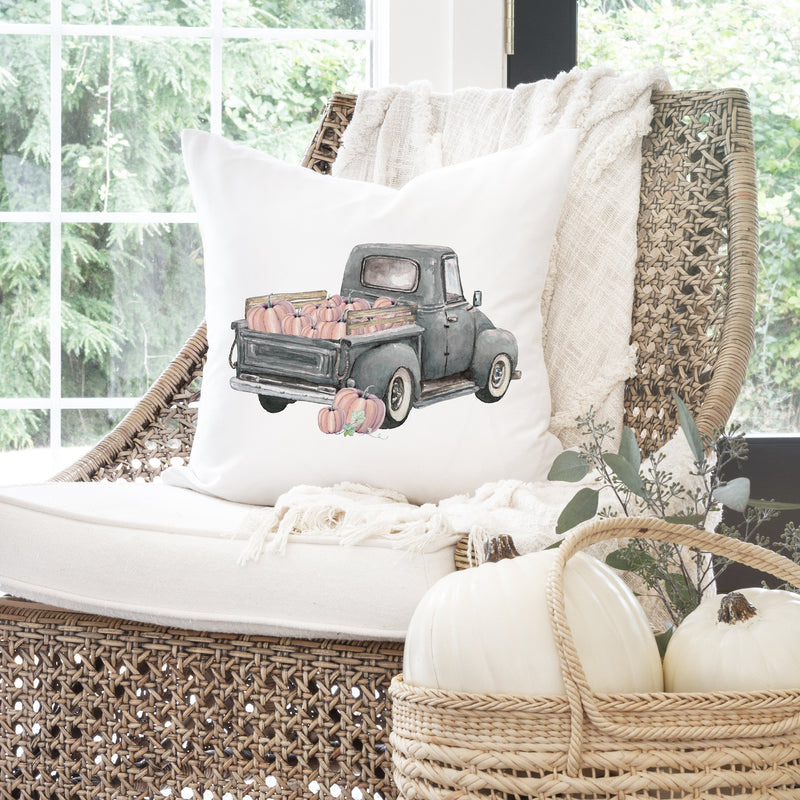 Fall Truck {Style 1} Pillow Cover. - Porter Lane Home