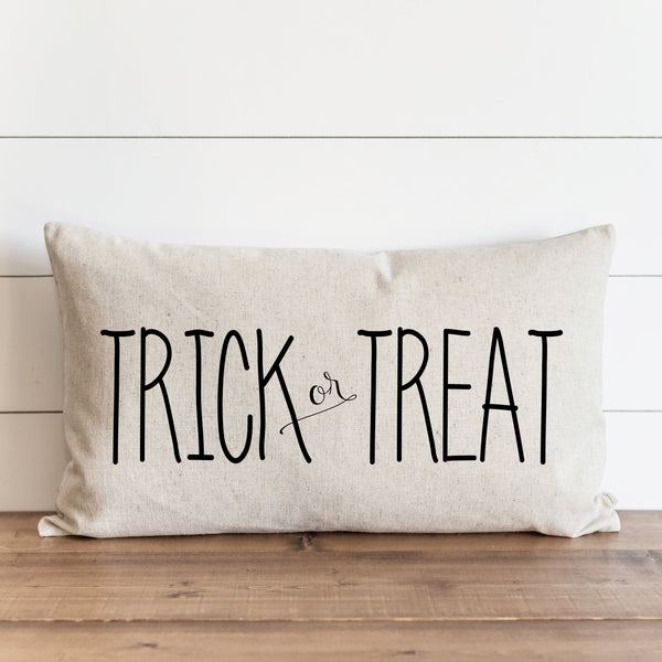 Trick or Treat_caps Pillow Cover. - Porter Lane Home