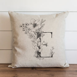 Personalized Monogram Pillow Cover. - Porter Lane Home
