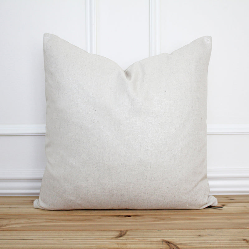 Neutral Shimmer Pillow Cover