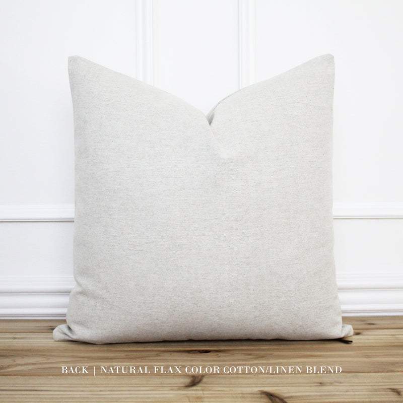 Light Gray Velvet Pillow Cover