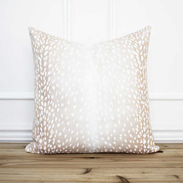 Antelope Pillow Cover Blush