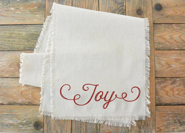 Joy Table Runner - Porter Lane Home