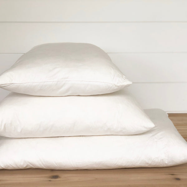 Down Pillow Insert - Porter Lane Home