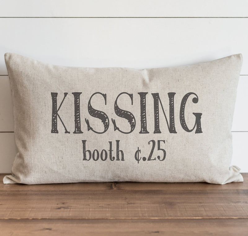 Kissing Booth Pillow Cover. - Porter Lane Home