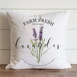 Lavender Pillow Cover. - Porter Lane Home