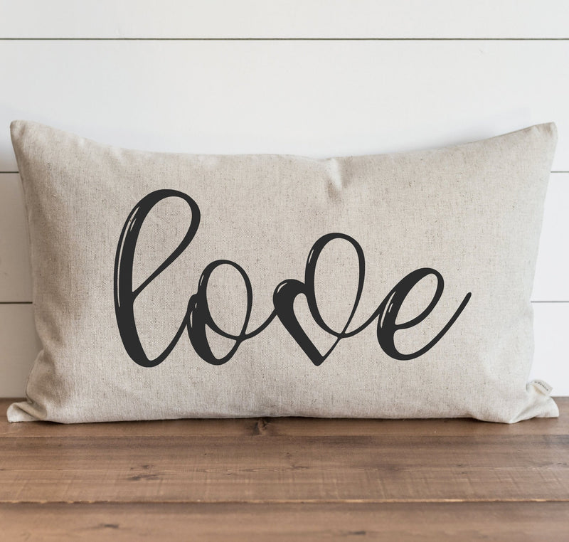 Love Pillow Cover. - Porter Lane Home