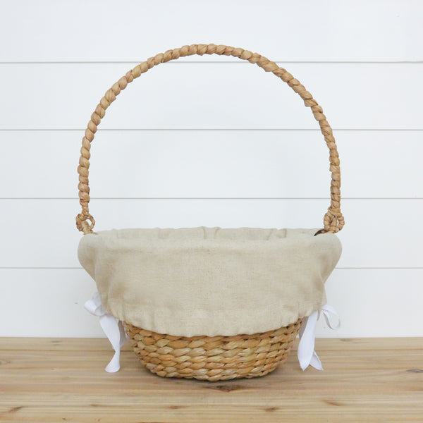 Plain Easter Basket Liner - Porter Lane Home