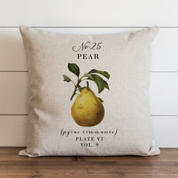 Botanical Pear Pillow Cover. - Porter Lane Home