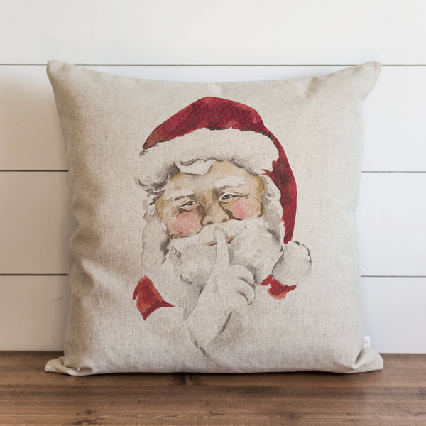 Santa Secret Pillow Cover. - Porter Lane Home