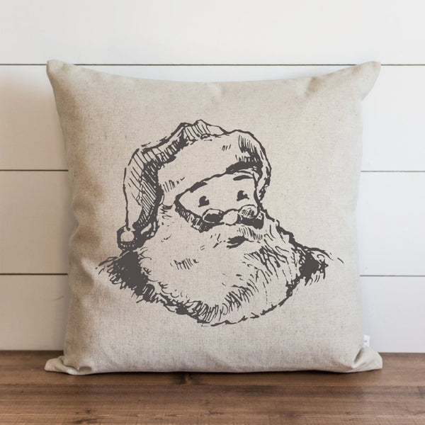 Santa {Style 2} Pillow Cover. - Porter Lane Home