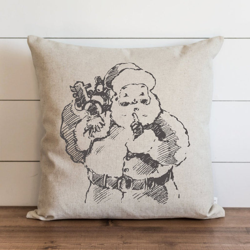 Santa {Style 3} Pillow Cover. - Porter Lane Home