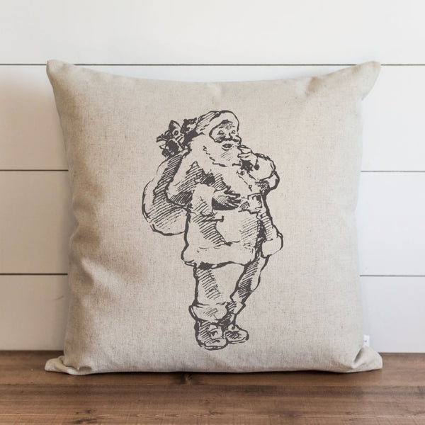 Santa {Style 4} Pillow Cover. - Porter Lane Home