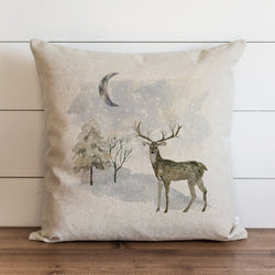 Snowy Night Pillow Cover. - Porter Lane Home