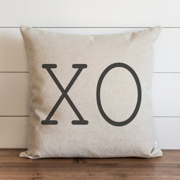 XO Pillow Cover.