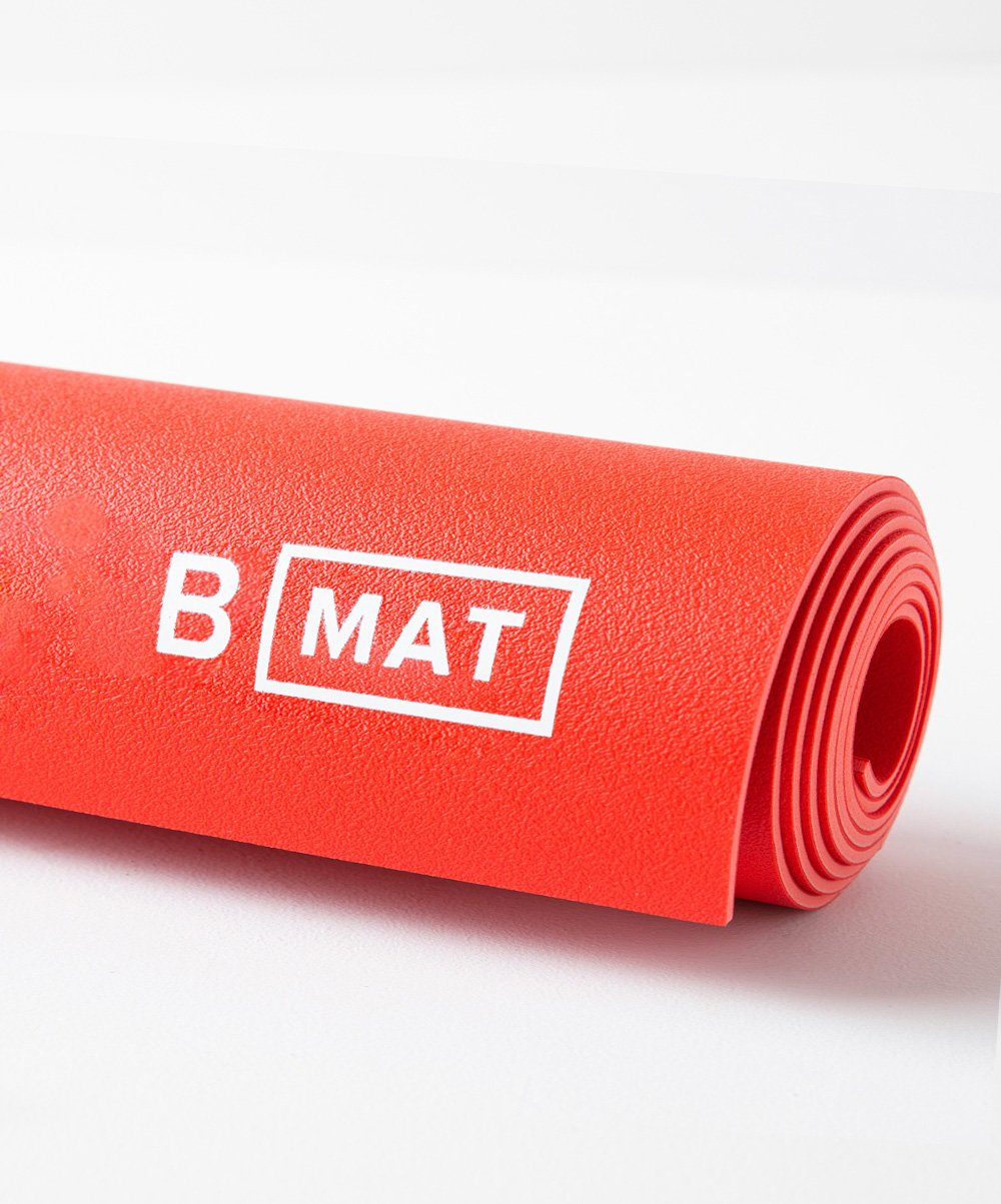 The B MAT Traveller Long 2mm  - Sunrise Red