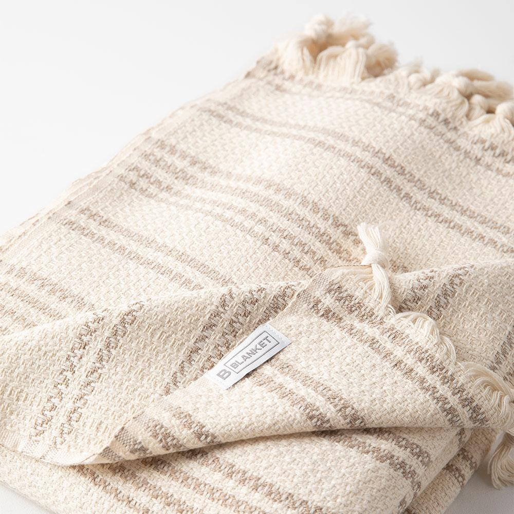The Turkish Blanket - Warm Beige