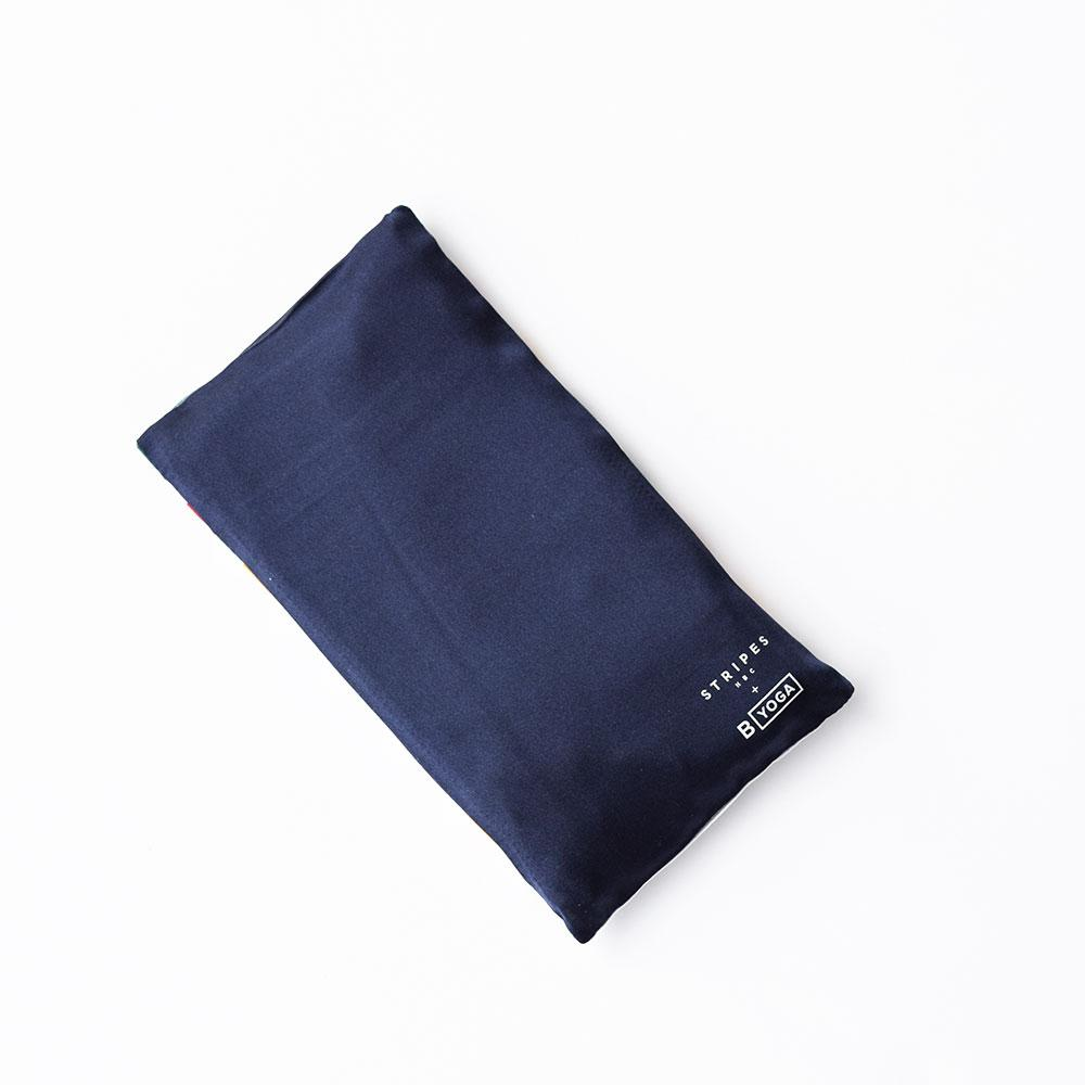 HBC x B YOGA - Lavender Silk Eye Pillow - HBC Stripes