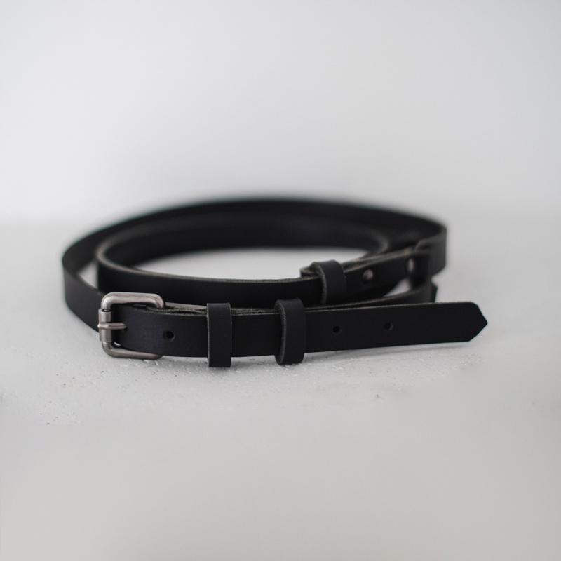 The Mat Strap w. Buckle - Black