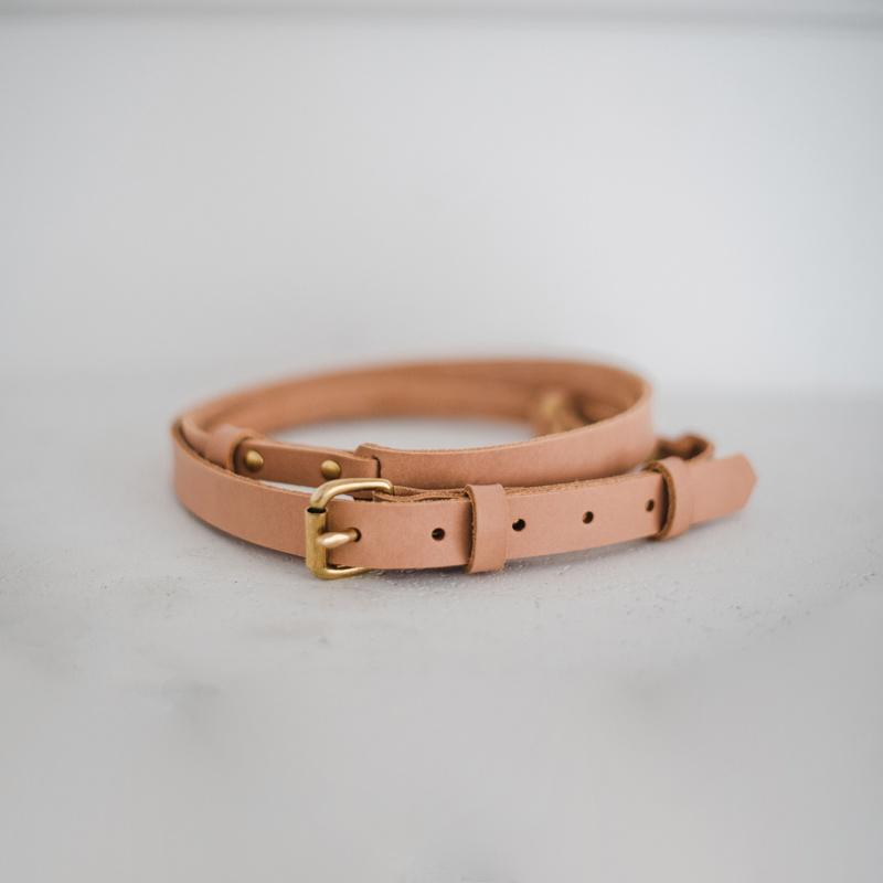 The Mat Strap w. Buckle - Natural