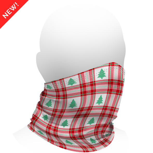 GrooveGaiter - Christmas Plaid