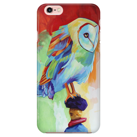 Colorful Owl Phone Case