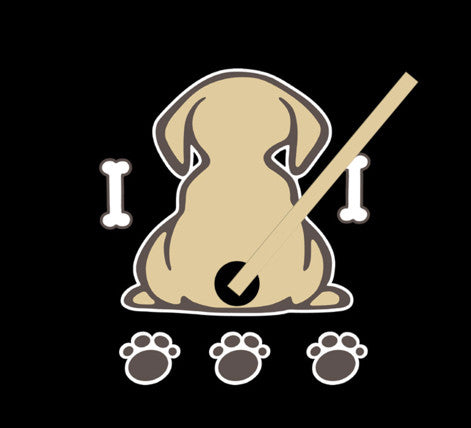 Rear Wiper Dog Decal - 50% today!