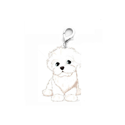 FREE - Adorable Stainless Steel Dog ID Tag