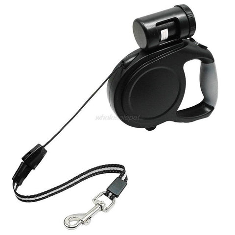 Retractable Dog Leash Waste Bag Combo – FREE Shipping