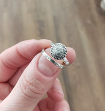 Flower of Life Ring- Custom Order Reserved for Allison