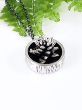 Birch Pot Succulent Necklace