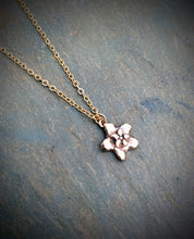 Japanese Hoya Succulent Necklace - Bronze