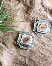 "Crazy Lace Agate ""Grit"" Earrings"