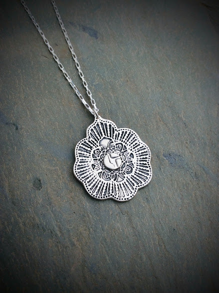 Disco Biscuits Mandala Burst Necklace