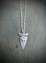 Disco Biscuits Arrow Head Necklace