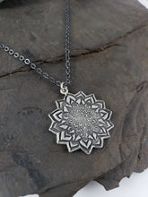 Floral Mandala Necklace