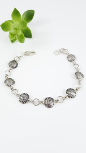 Flower of Life Coin Bracelet