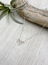 Dainty  Triangle Merkaba Necklace
