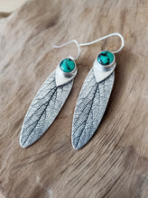 New Lander Turquoise Sage Earrings