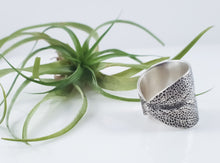 Sage Leaf Saddle Ring