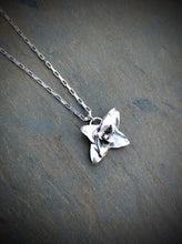 Handmade Silver Succulent Plant Necklace