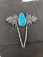 Sleeping Beauty Turquoise Evergreen Hair Pin