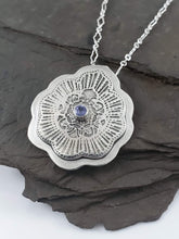 Tanzanite Mandala Necklace