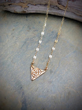 Triangle Merkaba Necklace