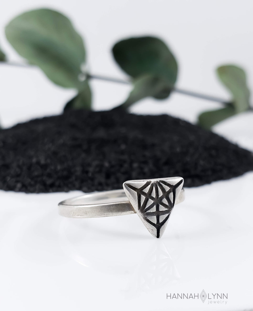 Triangle Merkaba Ring
