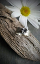 Birch Band Succulent Blossom Ring