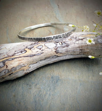 Birch Bark Bangle Bracelet