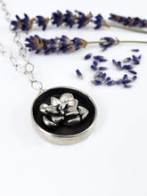 Planted Succulent in Hammered Pot Necklace